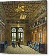 Design For The Grand Reception Room Canvas Print
