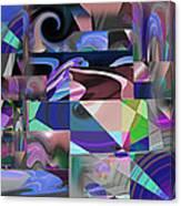Design Square 33 Canvas Print