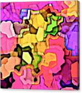 Designer Phone Case Art Colorful Rich Bold Abstracts Cell Phone Covers Carole Spandau Cbs Art 141 Canvas Print