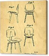 Designs For A Eames Chair Canvas Print