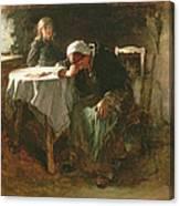 Despair, 1881 Canvas Print