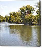 Desplaines River Canvas Print