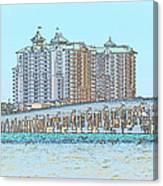 Destin Emerald Grand S1 Canvas Print