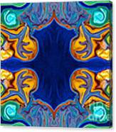 Destiny Unfolding Into An Abstract Pattern Canvas Print