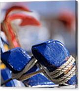 Detail From Fishing Boat Canvas Print