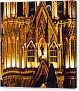 Detail Of La Parroquia Canvas Print