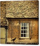 Detail Of Old House Canvas Print