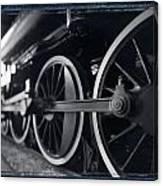 Detail Steam Engine Canvas Print