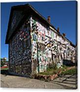 Detroit Africa Town - African Bead Museum #2 Canvas Print
