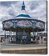 Detroit Carousel  Canvas Print