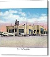 Detroit - City Airport - 1944 Canvas Print