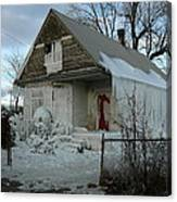 Detroit Ice House Canvas Print
