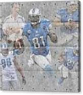 Detroit Lions Team Canvas Print