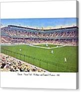 Detroit - Navin Field - 1922 Canvas Print