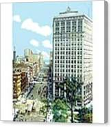 Detroit - The David Whitney Building - Woodward Avenue - 1918 Canvas Print