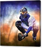 Detroit Tiger Alex Avila Canvas Print