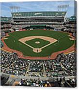 Detroit Tigers Vs. Oakland Athletics Canvas Print