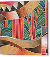 Deuba Sunset Canvas Print