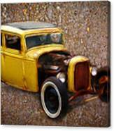 Deuce Coupe On Rust  Canvas Print