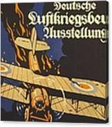 Deutsche Luftkriegsbeute Ausstellung Canvas Print
