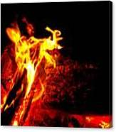 Devil Flame Canvas Print