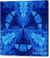 Devilish Dream Fractal Canvas Print