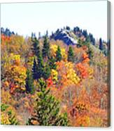 Devil's Courthouse In The Fall Canvas Print