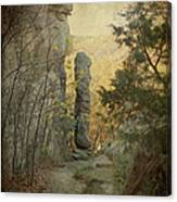 Devil's Smokestack Canvas Print