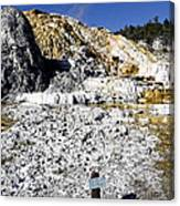 Devils Thumb - Yellowstone Canvas Print