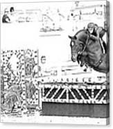 Devon Jumper  Canvas Print