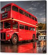 Devon Routemaster  Canvas Print