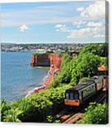 Devon Train Canvas Print