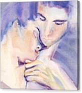 Devotional Surrender Canvas Print