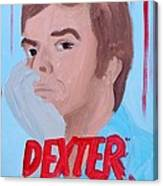 Dexter With Hand Canvas Print