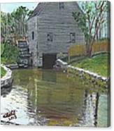 Dexter's Grist Mill - Cape Cod Canvas Print