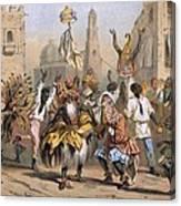 Dia De Reyes, Cuba Canvas Print