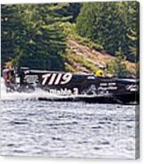 Diablo 3 Speedboat Canvas Print