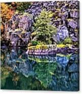 Diablo Lake Reflection Canvas Print