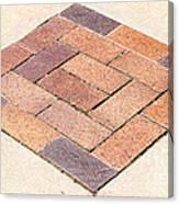Diamond Bricks Canvas Print