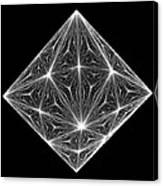 Diamond Crystal  Canvas Print