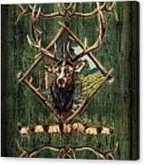 Diamond Elk Canvas Print