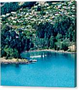 Diamond Harbour Canvas Print