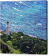 Diamond Head Lighthouse - Hawaii Canvas Print