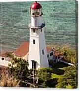 Diamond Head Lighthouse Honolulu Canvas Print