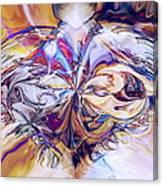 Diamond Heart Canvas Print