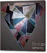 Diamond In The Mud Canvas Print