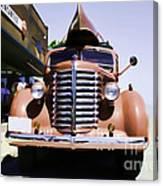Diamond T Truck - Sahara Canvas Print