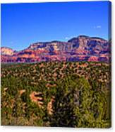 Diamondback Gulch Near Sedona Arizona Canvas Print