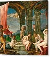 Diana And Actaeon Canvas Print