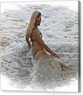 Diana In Cancun Canvas Print
